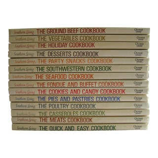 1971-1979 Southern Living Cookbook Library - Set of 14