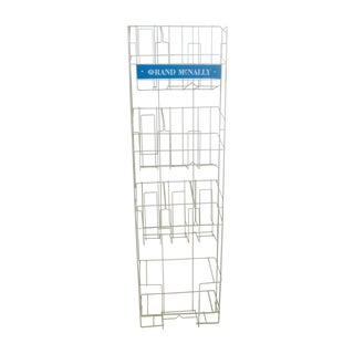 Rand McNally Advertising Map Display Stand