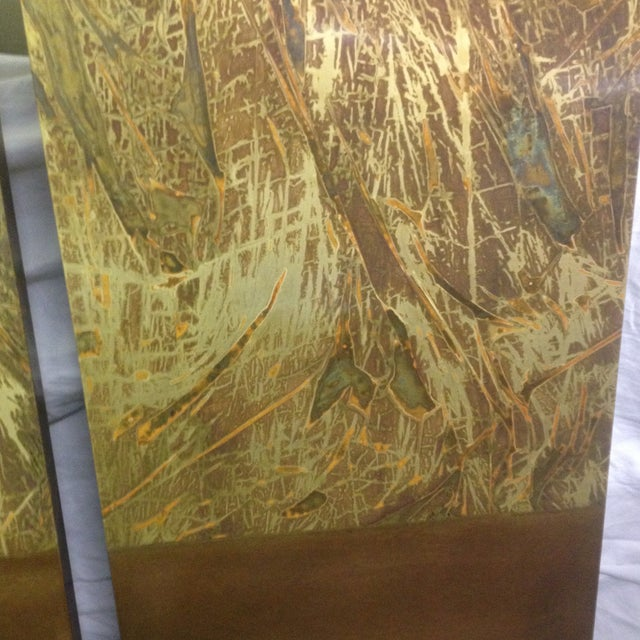Copper Art Work Panels - A Pair - Image 5 of 9