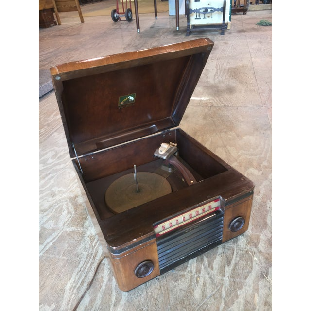 1940's Rca Victor Victrola Radio Record Player - Image 11 of 11