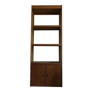 Mid-Century Wood Bookcase