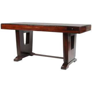 Art Deco French Colonial Rosewood Desk