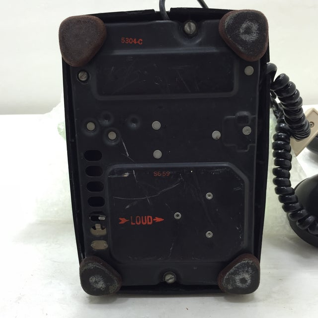 Black Western Electric 5302 Rotary Dial Telephone - Image 7 of 11