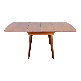 Dark Walnut Dining Table Set by Carl Bissman