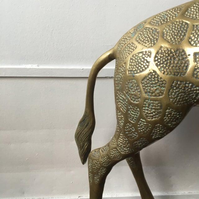 Lifesize Brass Giraffe - Image 6 of 8