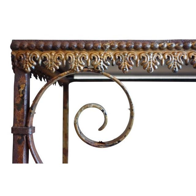 Wrought Iron Church Offerings Console - Image 5 of 7