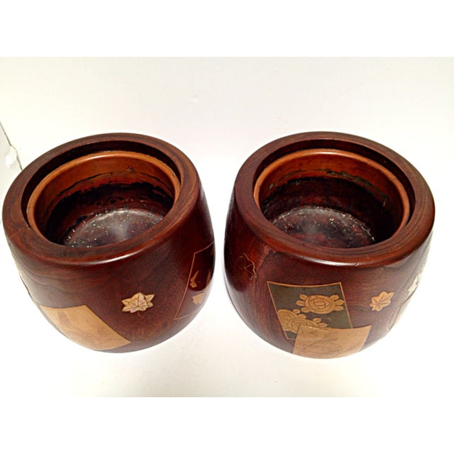 Image of Meiji Period Hibachis - A Pair