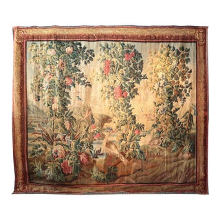 Antique 1750 F. Picon Signed French Aubusson Art