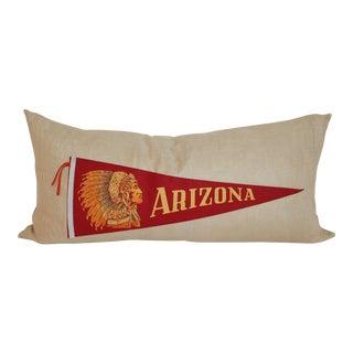 Linen Arizona Chiefs Pendant Bolster Pillow