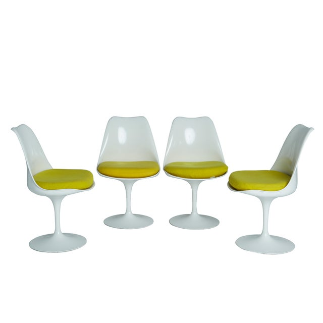 1st generation tulip chairs by knoll associates chairish for Knoll and associates