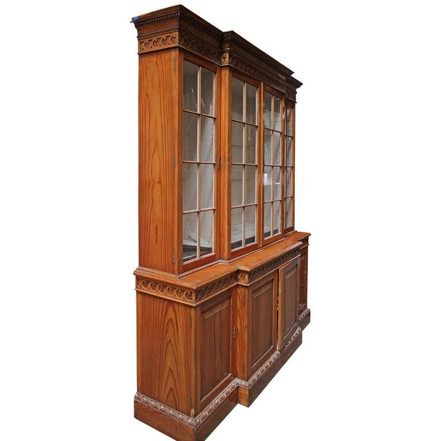 Image of Georgian Breakfront Cabinet