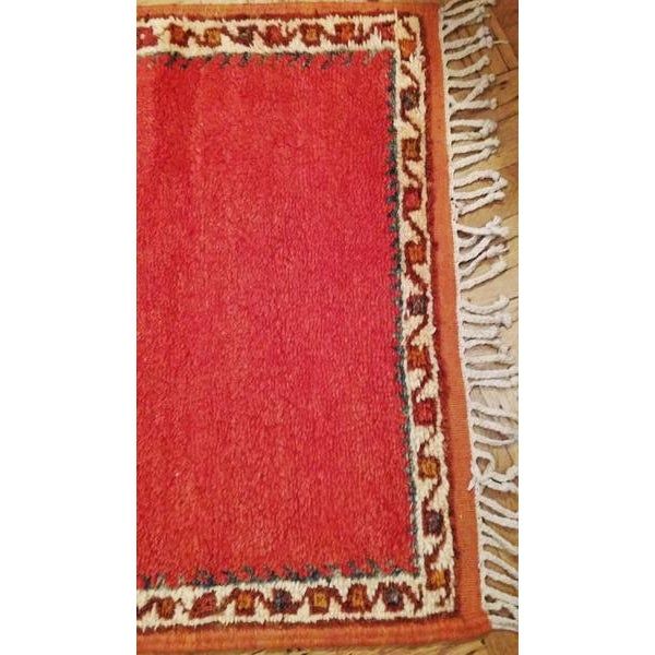 Coral And Turquoise Outdoor Rug: Coral And Turquoise Hallway Runner Pile Rug