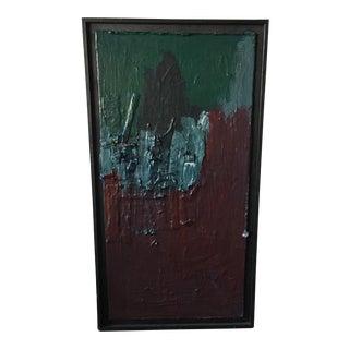 Robert Verran Abstract Textural Painting