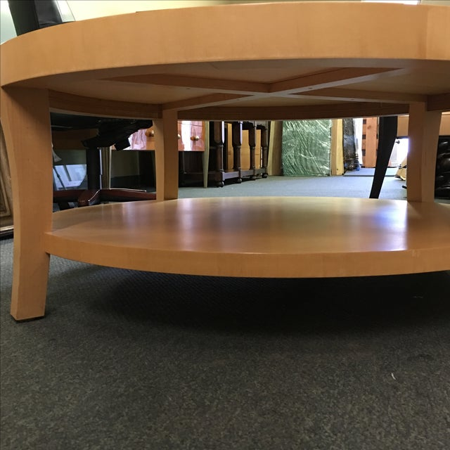 Image of Craig Collings Maple Cocktail Table
