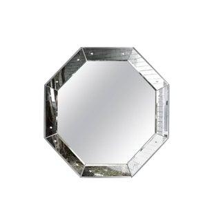 1970s Vintage Octagonal Mirror