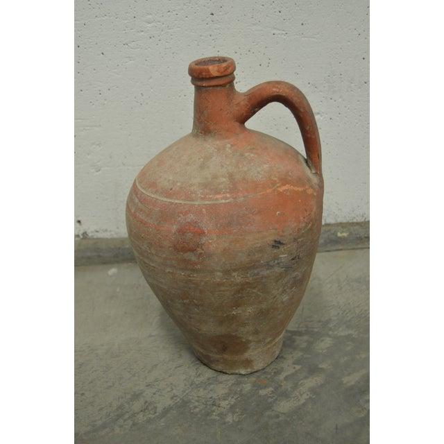 Greek Antique Stamna Pottery Vase - Image 2 of 4