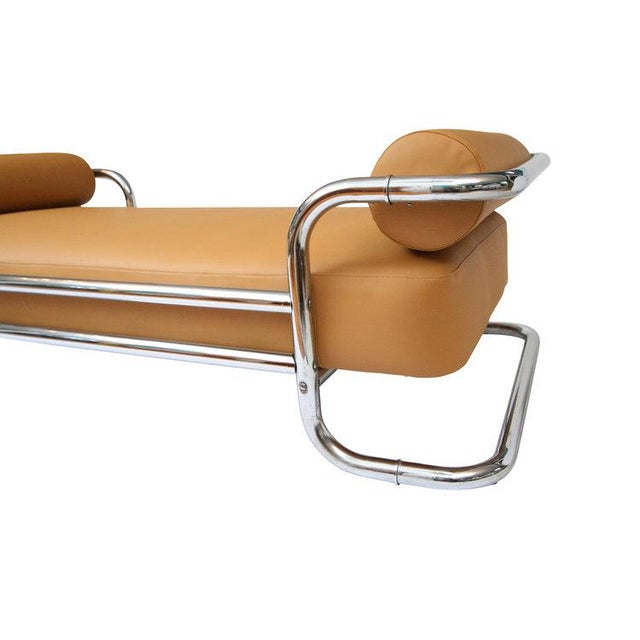 Emile Guillot for Thonet Attributed Bauhaus Daybed Sofa - Image 4 of 5
