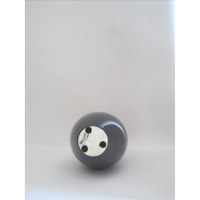 Haeger Gray Vase - Image 5 of 5