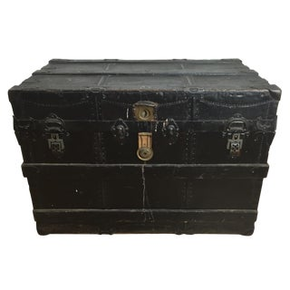 Antique Steamer Trunk by C.A. Malm & Co.