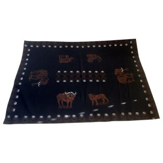 Safari Zooline Tablecloth Or Wall Hanging