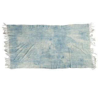 "Vintage African Textile Throw - 3'5"" X 6'3"""
