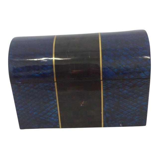 Image of Maitland- Smith Lapis & Penshell Box