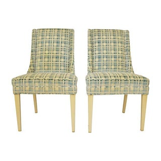 Mid-Century Accent Chairs- A Pair