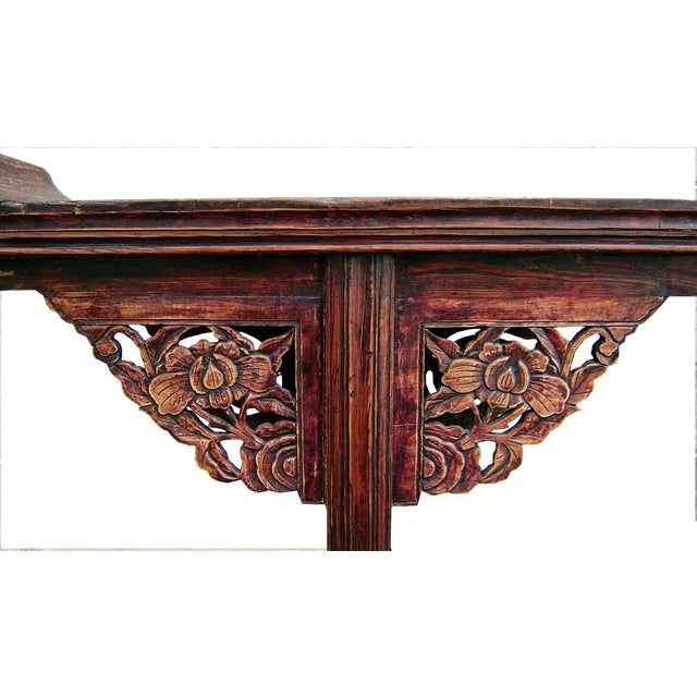 Antique 1800s Chinese Altar Table - Image 3 of 5