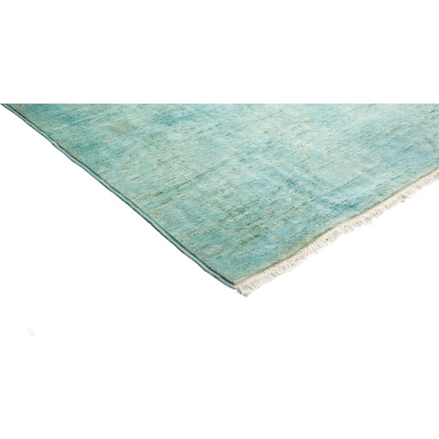 "Overdyed Hand Knotted Area Rug - 3'1"" X 4'10"" - Image 2 of 3"