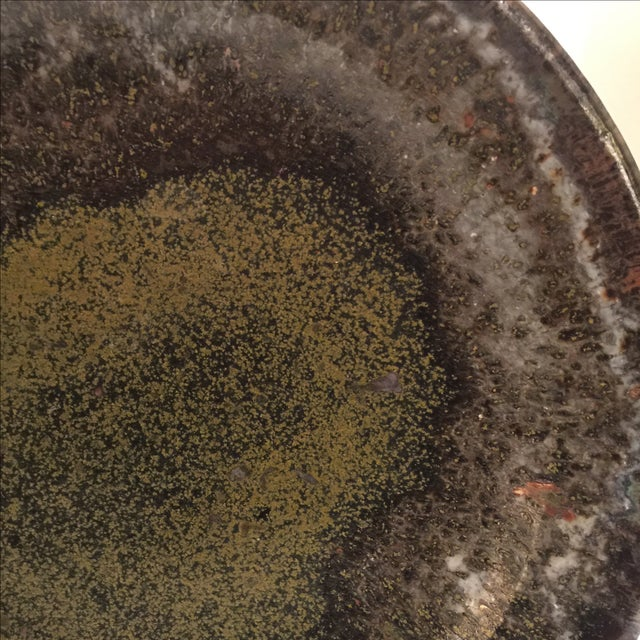 Handmade Earthtones Pottery Bowl - Image 6 of 7