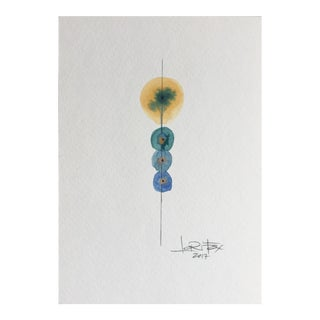 Totem Watercolor Painting