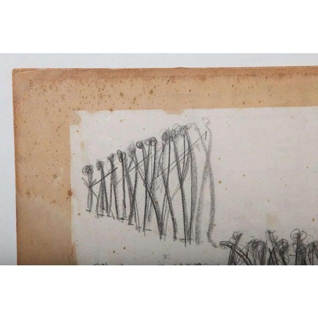 Original Charcoal Bauhaus Style Art - Image 9 of 9
