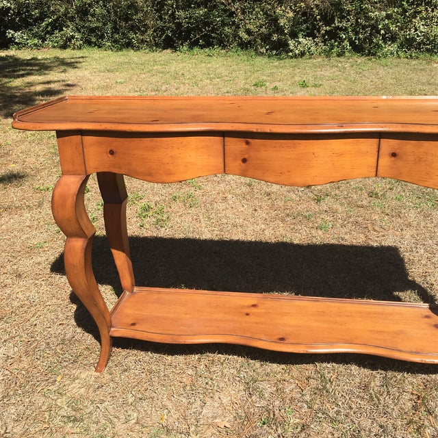 Image of Baker Furniture Milling Road Console Table