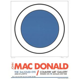 John Macdonald, The Dazzled Eye, 1965 Lithograph