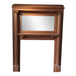 American Victorian Fireplace Mantel