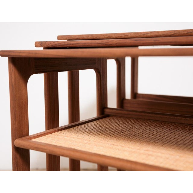 Johannes Andersen Nesting Tables - Image 9 of 11