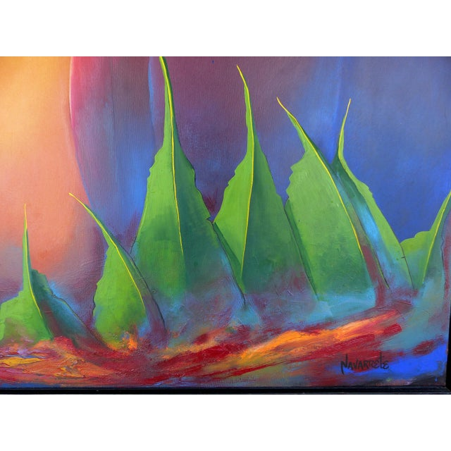 Image of Contemporary Abstract by Cuban-American Artist Juan A. Navarrete