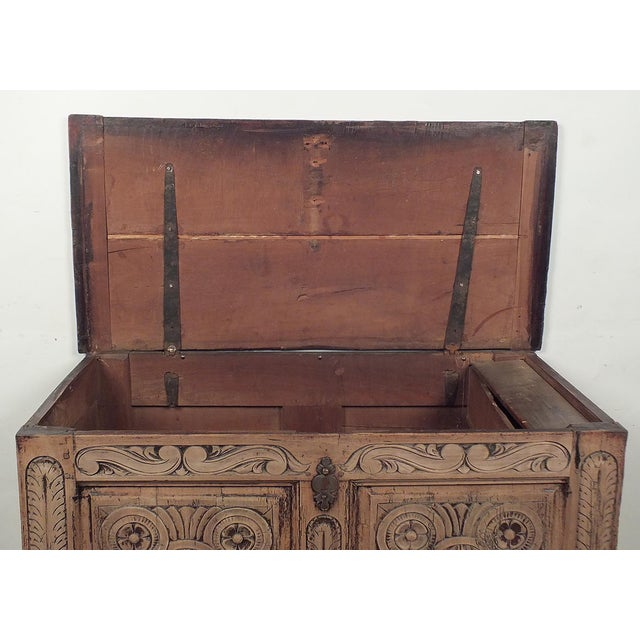 18th Century French Trunk Spanish Baroque-Style - Image 5 of 10