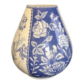 Spode Blue & White Vase