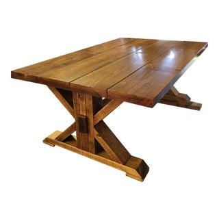 Farmhouse Style Pine Coffee Table