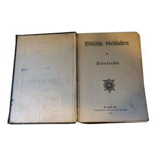 1905 German Bible Stories for Students Illustrated
