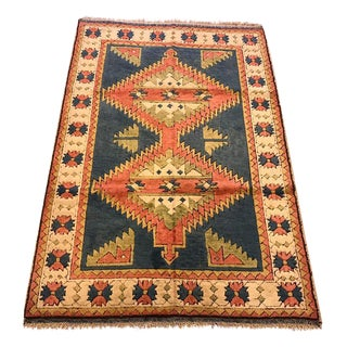 Kars Turkish Semi-Antique Rug - 4'4'' X 6'6''