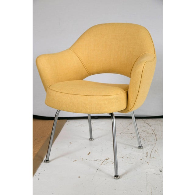 Image of Saarinen Executive Armchair, Canary Yellow