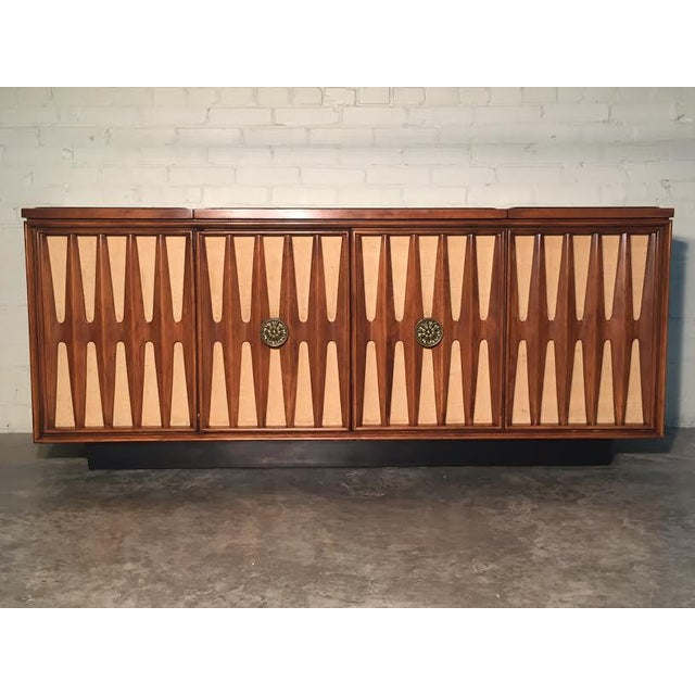 Mid-Century Modern Stereo Console/Credenza - Image 5 of 11