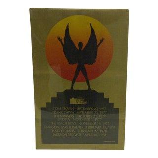 1978 Vintage Star Course Concert Series Concert Poster