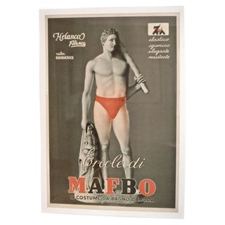 Red Suit Framed Poster