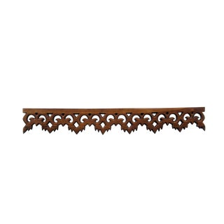 Carved Teak Moulding Trim