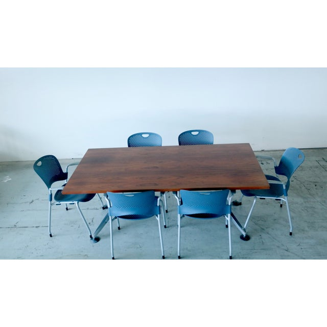 Image of Danish Rosewood Herman Miller Conference Set