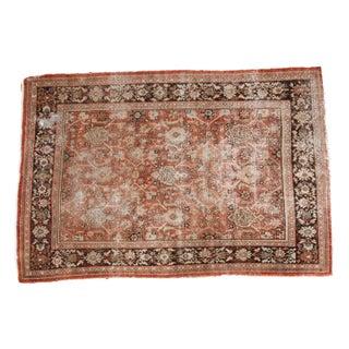 "Distressed Vintage Mahal Carpet - 7'1"" x 10'3"""