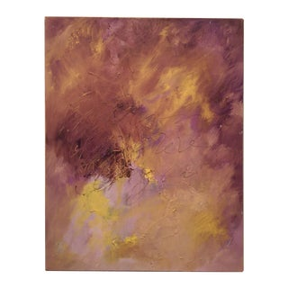 Original Oil on Canvas Abstract Modern Painting